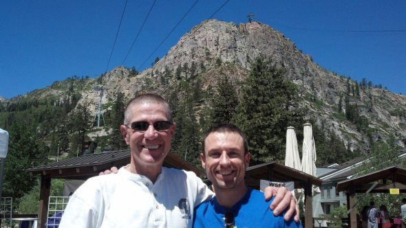 Me with ultra legend David Horton