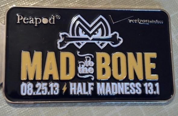 Peapod Half Madness Half Marathon Batavia 2013