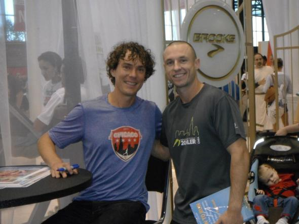 Jeff Lung and Scott Jurek