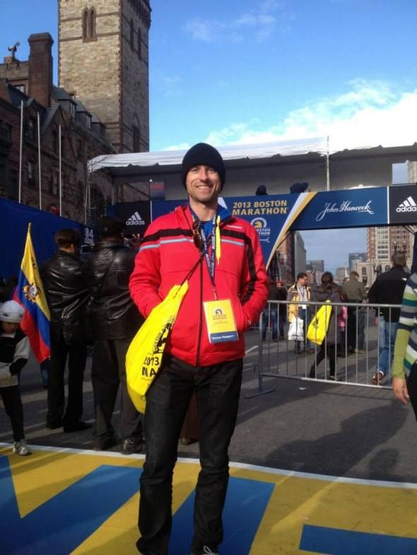 Jeff Lung Boston Marathon 2013