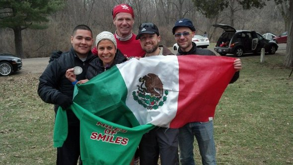 Team Edna (L to R): Raul, Edna, Robin, Jeff, Siamak.