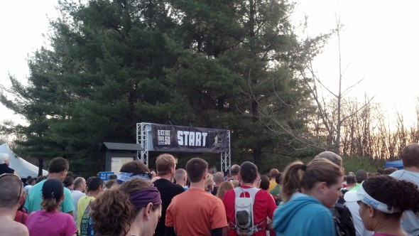 Ice Age Trail 50 2014 Start