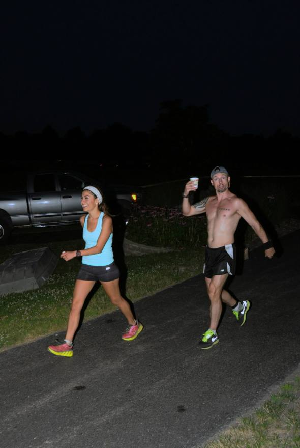 Edna and I, on the homestretch. (Image courtesy of Nate Pualengco)
