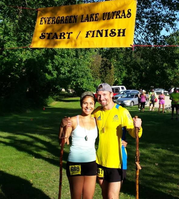 Evergreen Lake Ultra and a Half 2014 Jeff and Edna