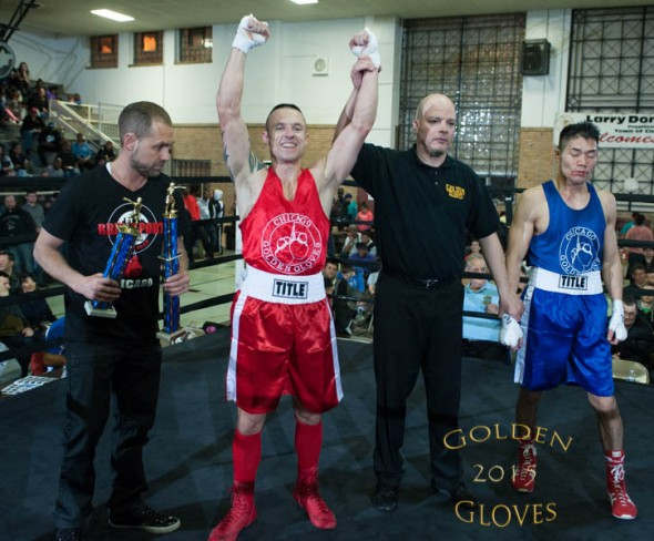 Jeff Lung 2015 Golden Gloves Final